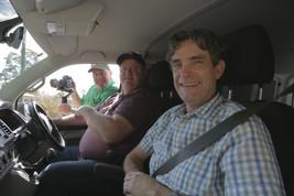 L-R, Peter Cross, Daniel Raffaele, Mike