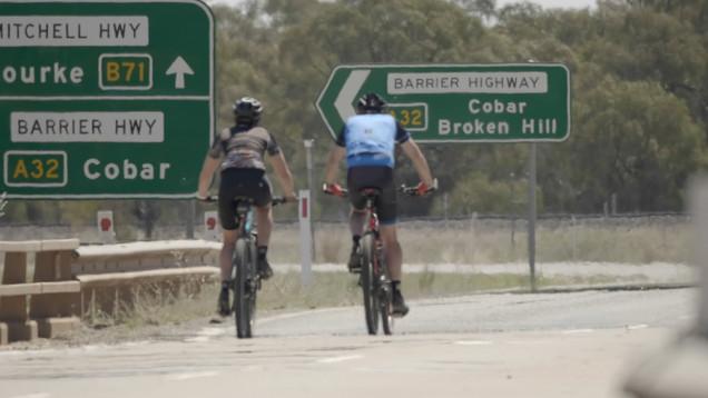 Hitting the Barrier Highway at  Nyngan.j