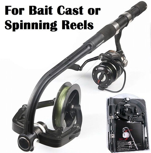 Fishing reel Line Winder Spooler for Spinning & Bait Cast Reels