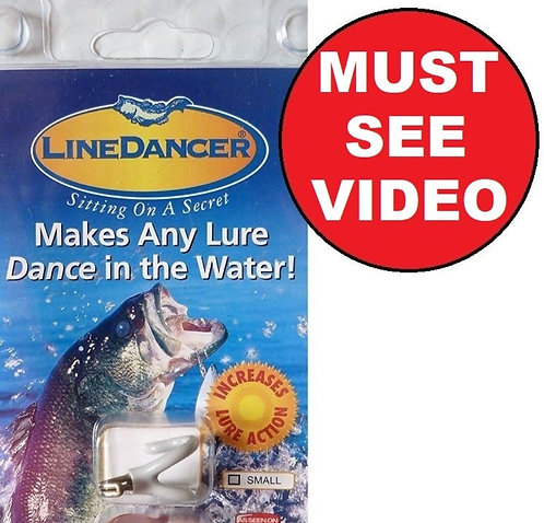 LineDancer  Make Any Lure Dance   - In 3 Sizes