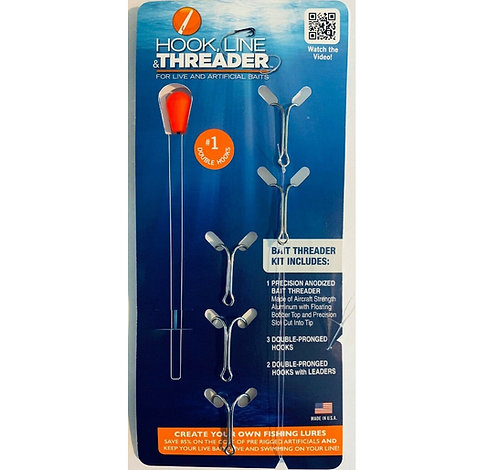 Hook, Line & Threader    7 Sizes
