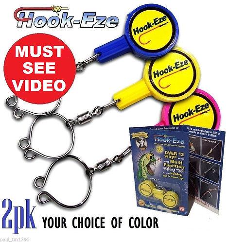Hook-Eze Original River & Coast Model Twin Pack - 3 Colors