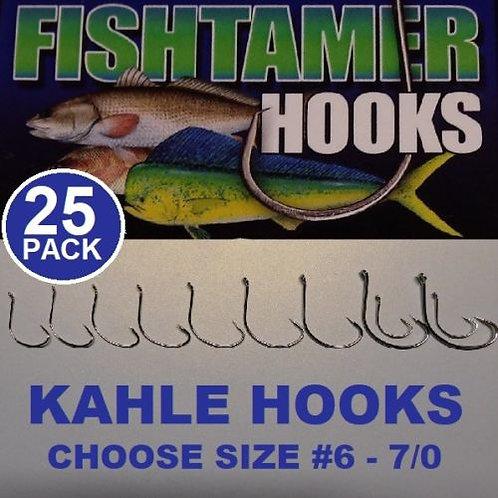 25pk Kahle Hooks FISH TAMER Pro Pack - Super-Sharp