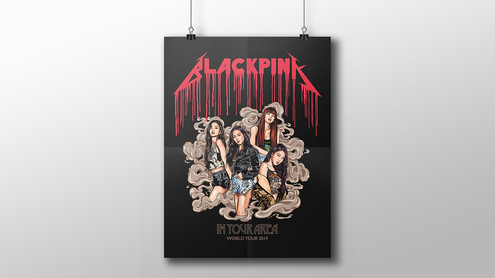 BLACKPINK In Your Area Print