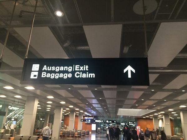 스위스 취리히 공항 나가기
