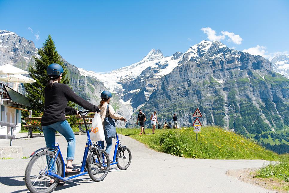 트로티바이크 그린델발트 피르스트 스위스여행 유럽여행