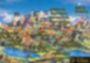 스위스여행 인터라켄 융프라우 지도  가이드북