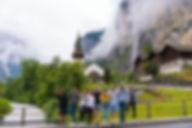 비오는날 스위스 플랜 B | 라우터브루넨 Lauterbrunnen