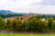 스위스 베른 구시가지 장미공원에서 바라본 뷰