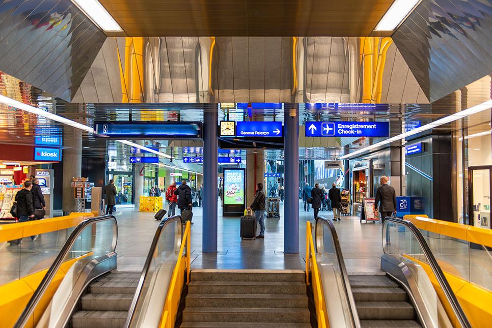 스위스 제네바 공항역