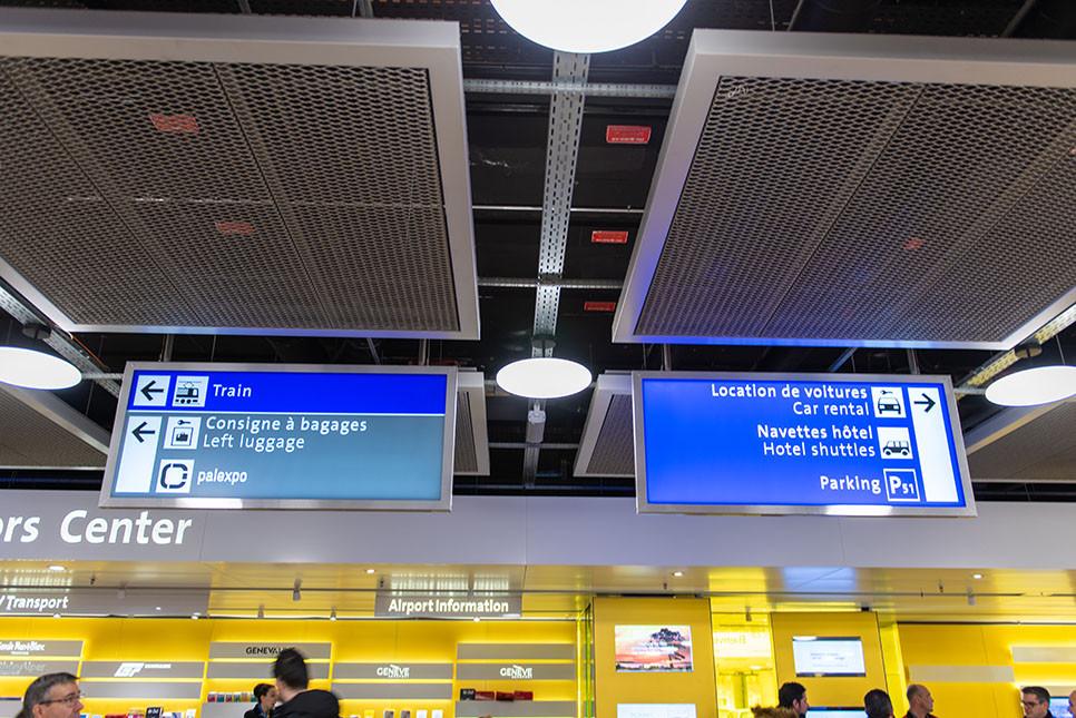 제네바공항 기차역