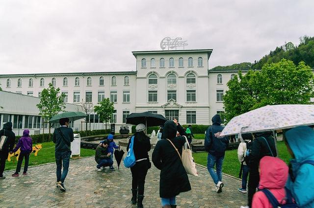 스위스 그뤼에르 브록 까이에 초콜렛공장