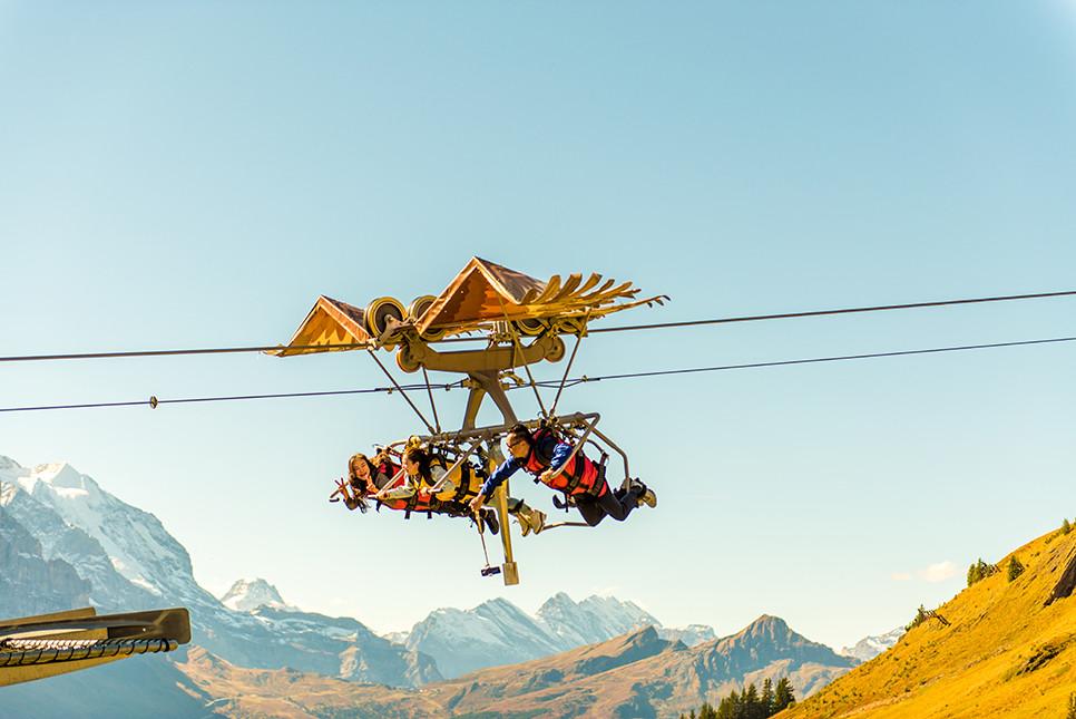 피르스트 글라이더 스위스여행 유럽여행