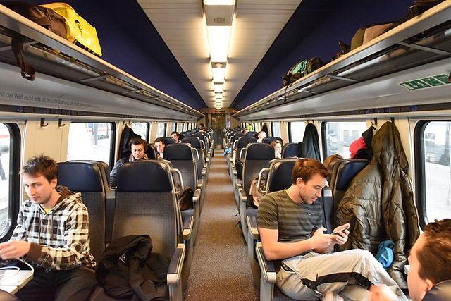 스위스 대중교통 기차 2등석