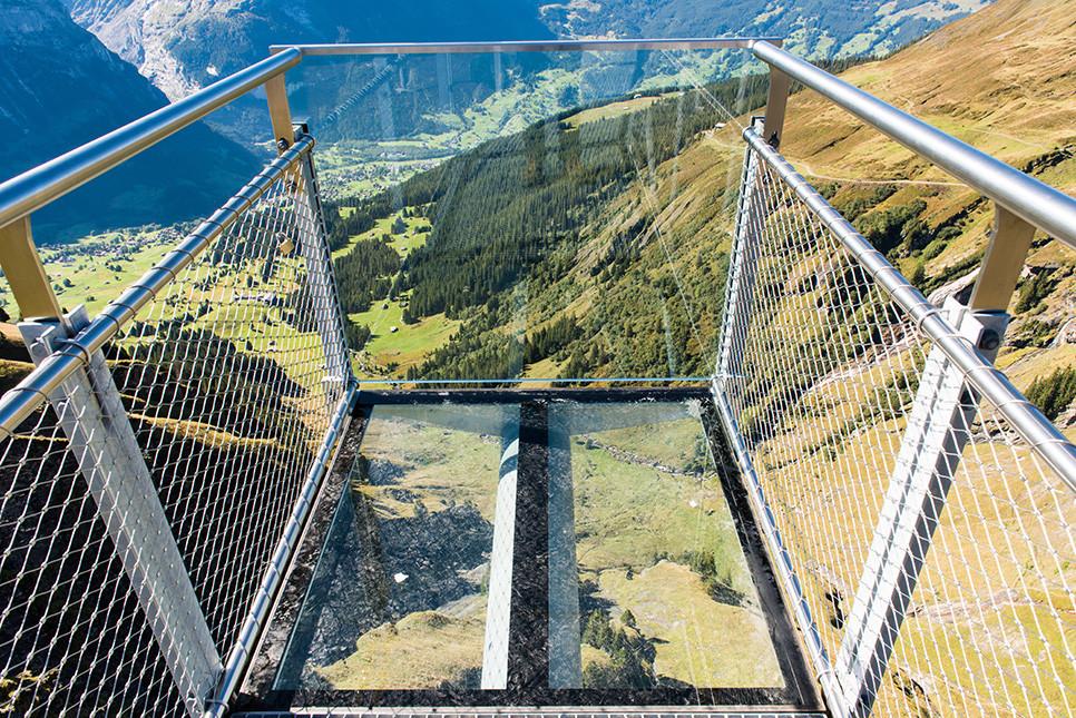 그린델발트 피르스트클리프워크 전망대 스위스여행 유럽여행