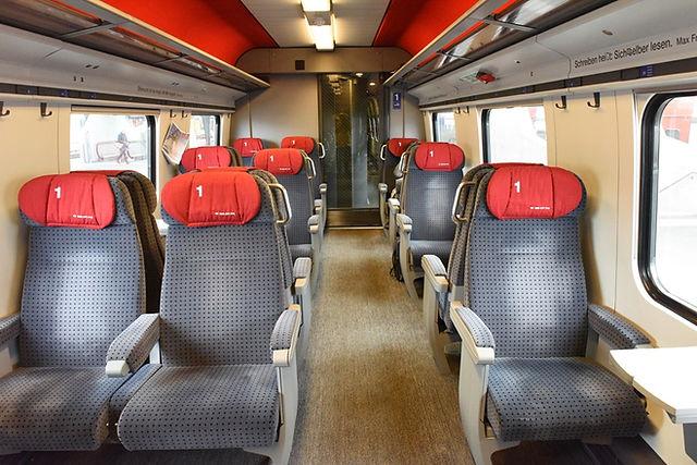 스위스 대중교통 기차 1등석