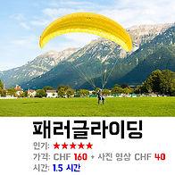 스위스 인터라켄 최고 인기 액티비티 패러글라이딩 가격/꿀팁/예약 방법 상세 설명