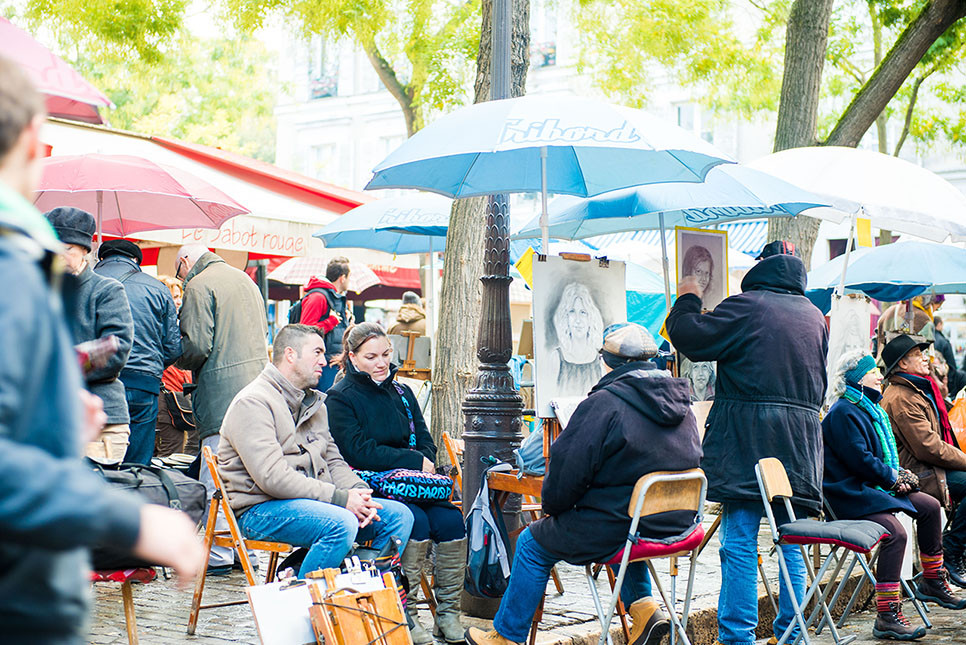 몽마르트 언덕 파리여행 프랑스여행 유럽여행