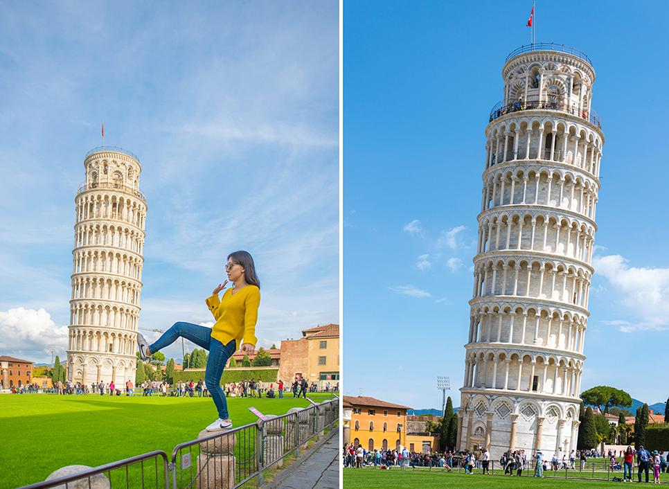 피사 피사의사탑 피렌체 근교 이탈리아여행 유럽여행