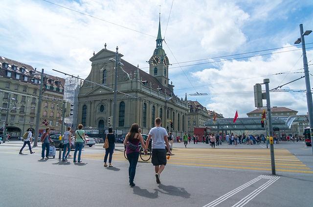 스위스 수도 베른 성령교회