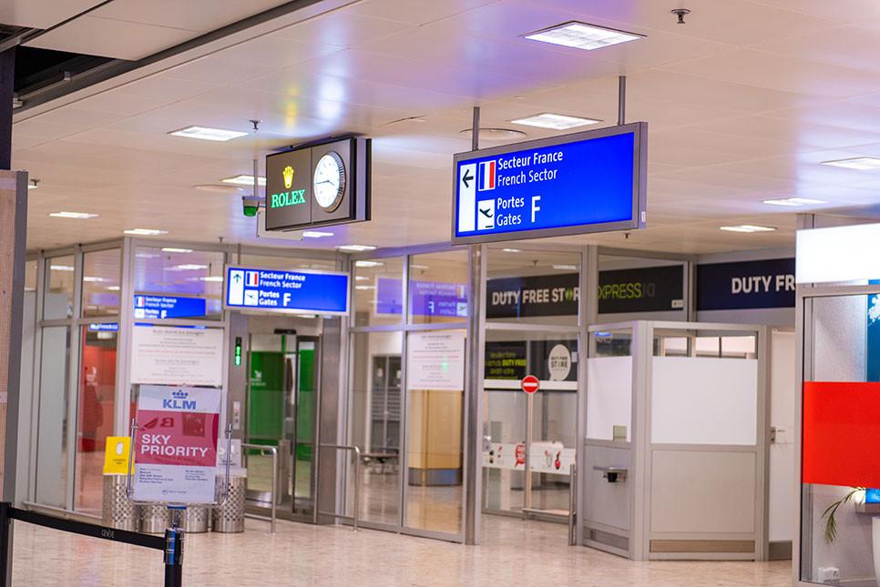 스위스 제네바 공항역 택스리펀