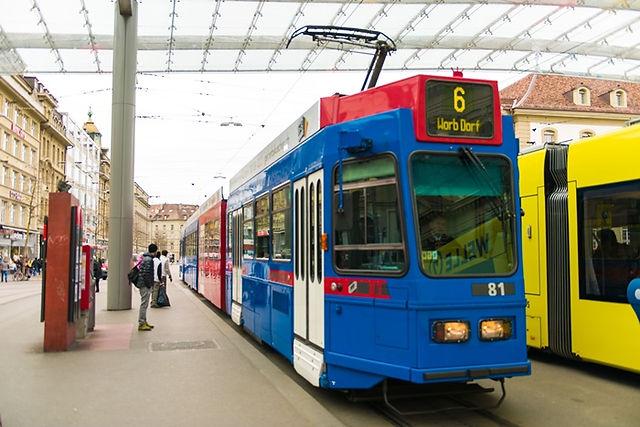 스위스 대중교통 트램