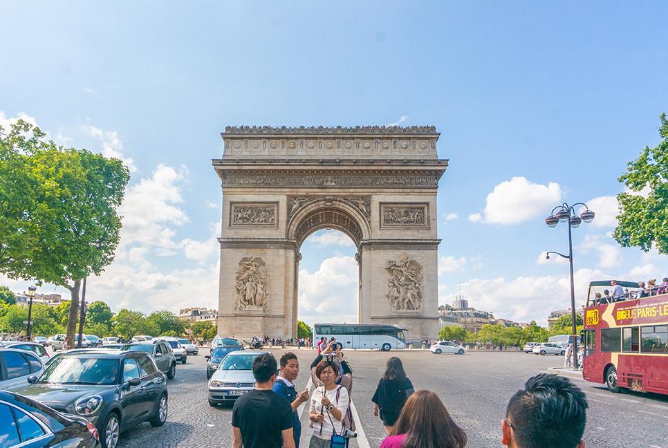 파리 개선문   프랑스여행   유럽여행