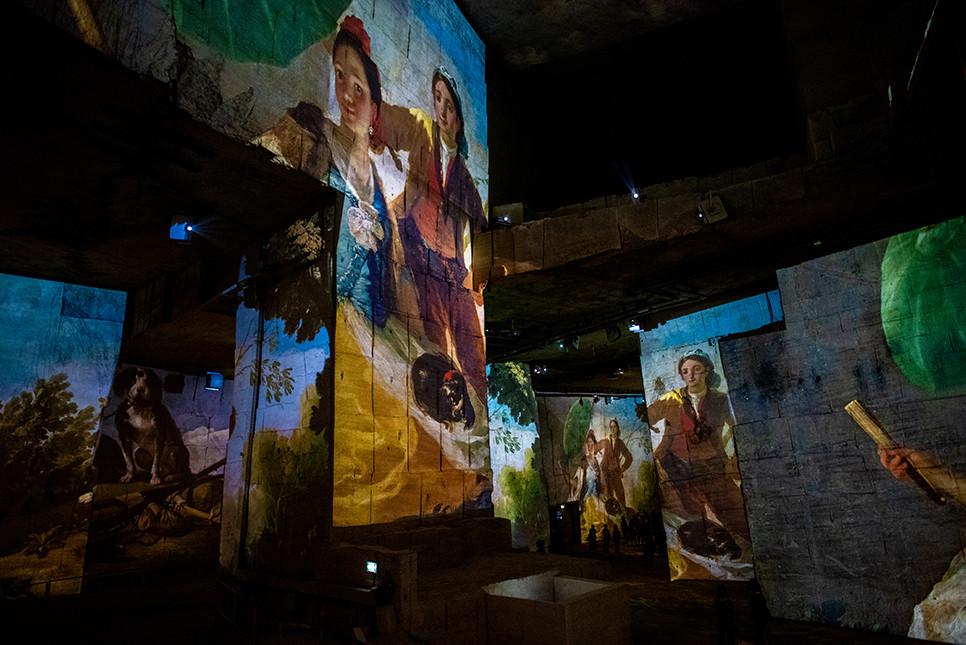 레보드프로방스 빛의채석장 프로방스 프랑스여행