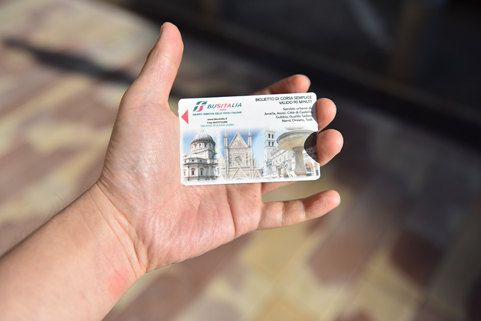 이탈리아 버스 티켓