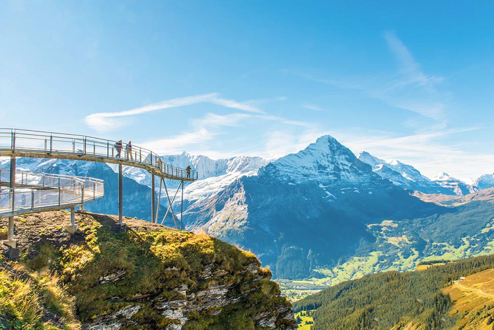 그린델발트 피르스트 휘르스트 스위스여행 유럽여행
