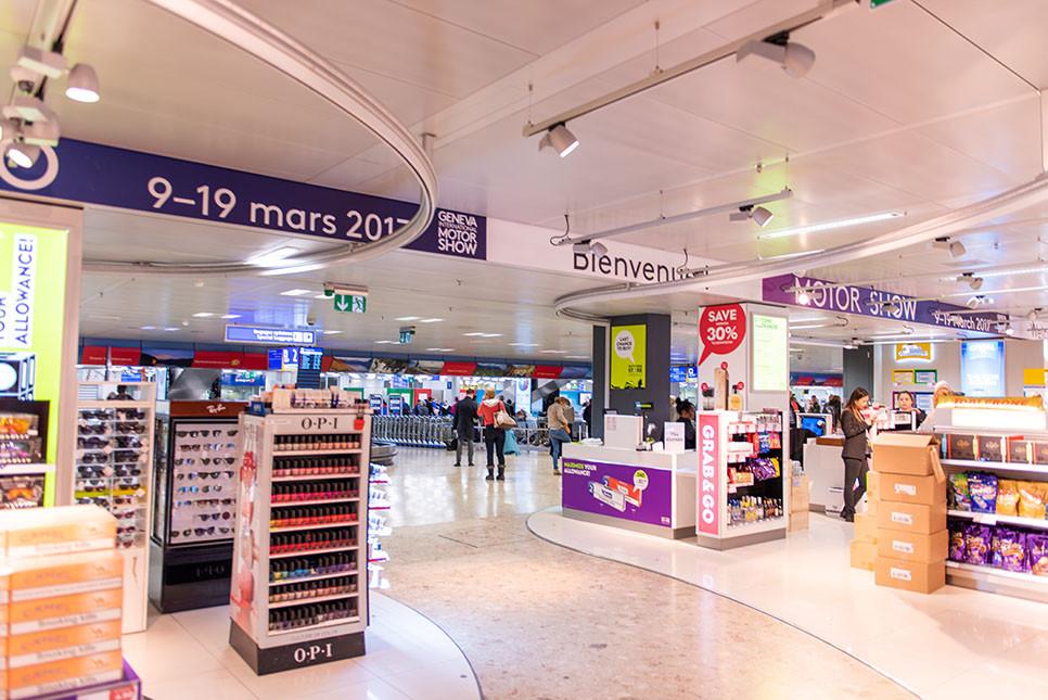 스위스 제네바 공항 면세점