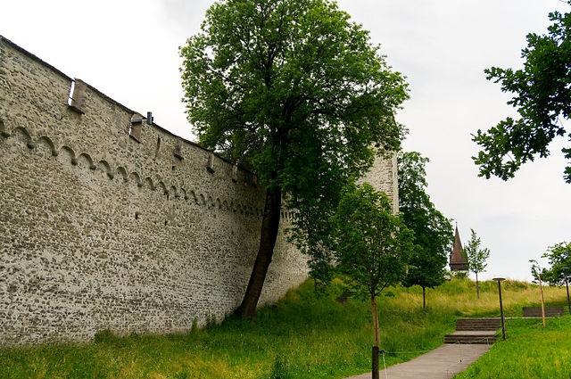 스위스여행,루체른여행,루체른시내, 무제크성벽