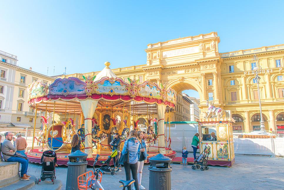 이탈리아여행 피렌체여행 리퍼블리카 광장