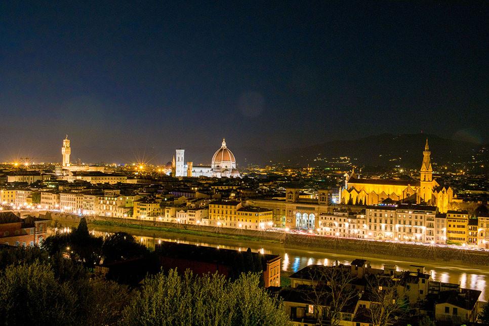 이탈리아여행 피렌체 야경 미켈란젤로 언덕