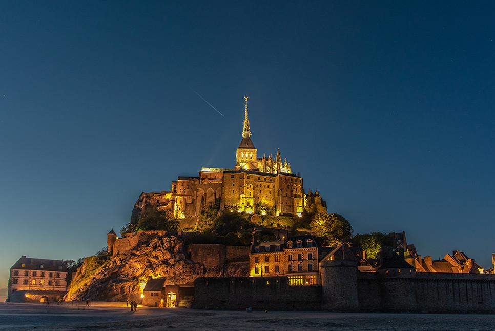 몽생미셸 야경 파리근교 프랑스여행