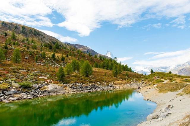 그륀 호수 체르마트 수네가 5대 호수