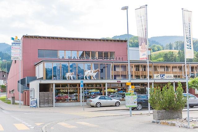 스위스 그뤼에르 치즈공장