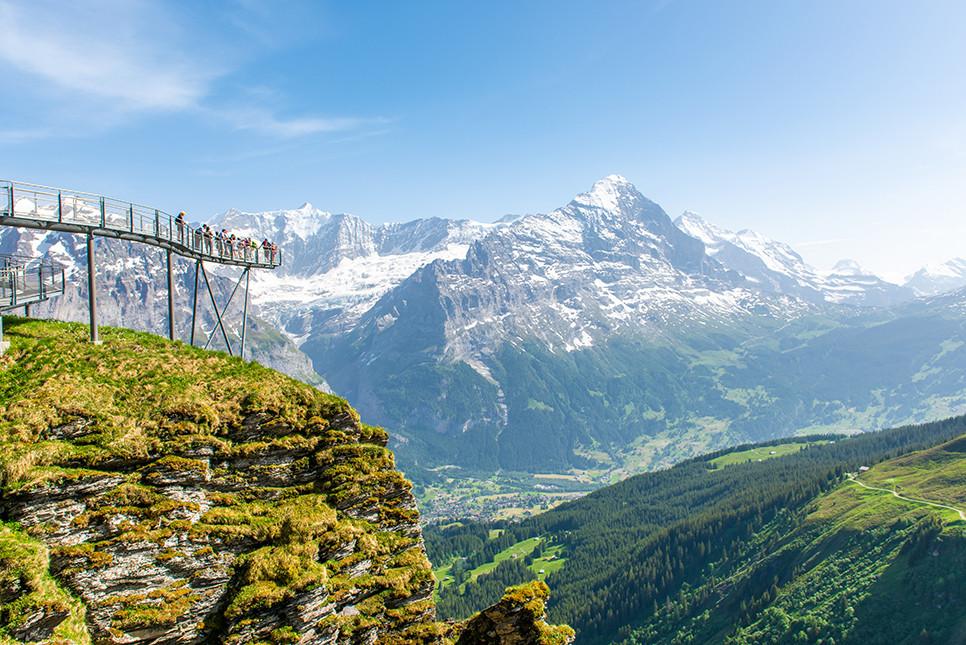 그린델발트 피르스트클리프워크 스위스여행 유럽여행