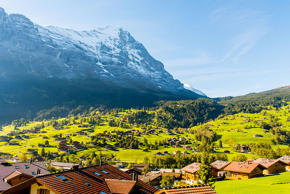 유럽여행 스위스여행 그린델발트