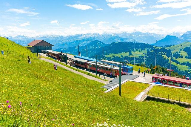 스위스 루체른 리기산 올라가는길, 비츠나우, 리기산 산악열차,리기산정상,리기쿨름