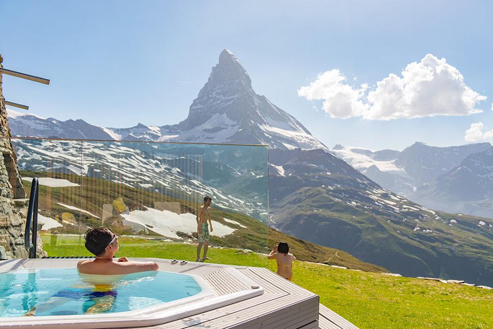 리펠베르그 마테호른 온천 체르마트 스위스여행 유럽여행