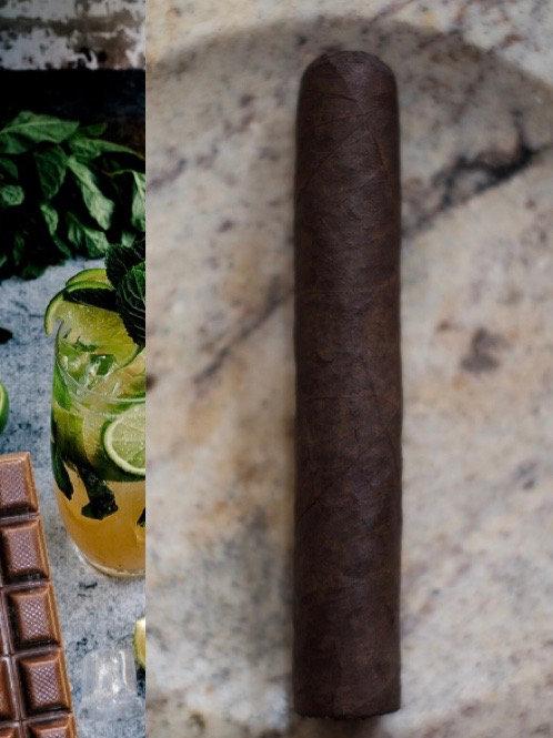 Chocolate Mojito Cognac Cigar