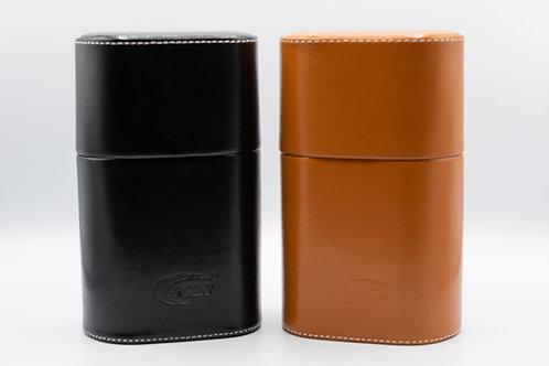 Large Leather Cigar Case