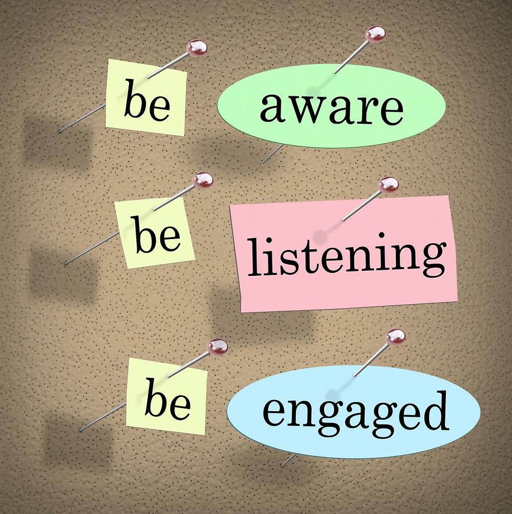 communication, active listening, good relationships