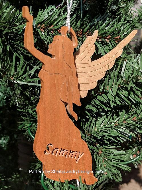 Angel #2 Custom Ornament