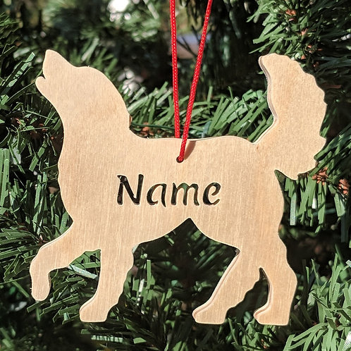 Dog Shape Ornaments