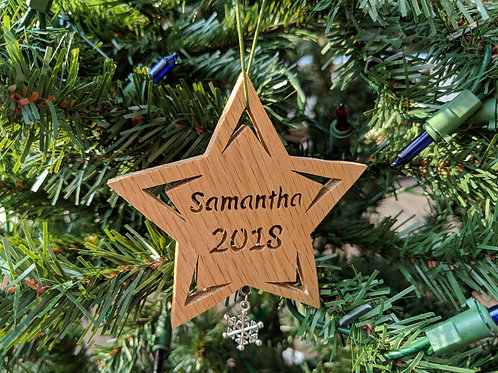 Star with Name and Year