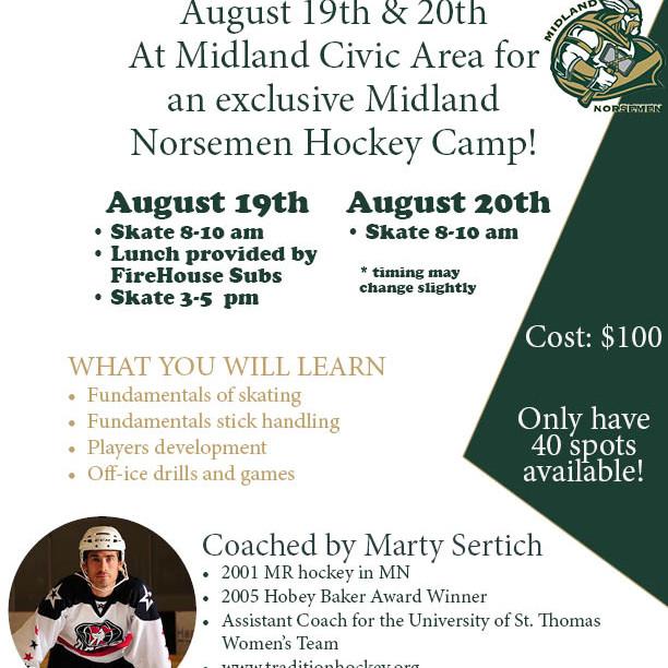 Development Hockey Camp