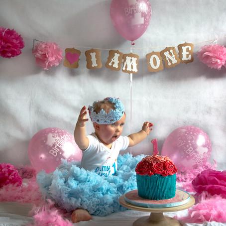 Smash Cake Party - Sophie's 1st Birthday