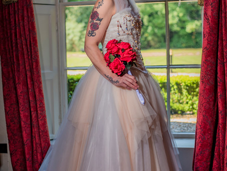 Antique Wedding Dress Photo Shoot